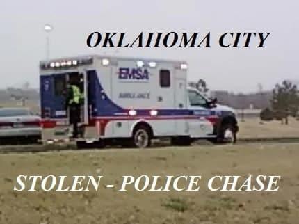 03/17/19 Oklahoma City, OK - Woman Steals EMSA Ambulance